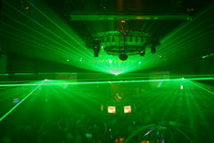 Partido do laser Imagens de Stock Royalty Free
