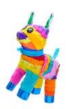 Partido do mexicano do asno de Piñata fotografia de stock royalty free