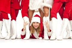 Partido do `s de Papai Noel foto de stock