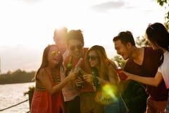 Partido do verão Imagens de Stock