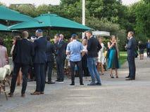 Partido elegante no jardim Copenhaga Foto de Stock Royalty Free