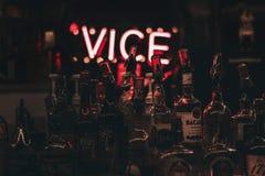 Partido en club nocturno imagen de archivo libre de regalías