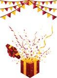 Partido festivo background02 ilustração stock