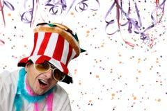 Partido fresco do carnaval Fotos de Stock