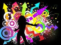 Partido Funky Fotografia de Stock