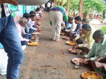Partido indiano da união da vila imagens de stock royalty free
