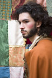 Partido medieval del traje Fotos de archivo libres de regalías