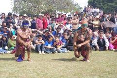 Partido mesoamericano Foto de archivo libre de regalías