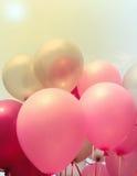 Partido o celebración de los globos Imagen de archivo