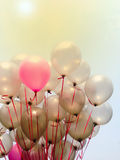 Partido o celebración de los globos Fotos de archivo