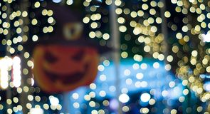 Partido outubro do Dia das Bruxas do borrão de movimento fotos de stock royalty free
