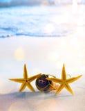 Partido romántico de la playa tropical del arte; boda o luna de miel fotos de archivo libres de regalías