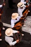 Partido típico de la fiesta de Romeria Foto de archivo libre de regalías