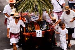 Partido típico de la fiesta de Romeria Imagenes de archivo