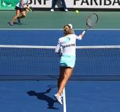 Partido Ucrania del tenis de FedCup contra la Argentina Fotos de archivo