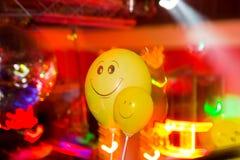Partie à la grande disco avec des effets spéciaux Photographie stock