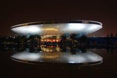 Partie 2010 de nuit de lumière d'expo de Changhaï Images libres de droits