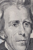 Partie antérieure d'un billet d'un dollar 20 Photographie stock libre de droits