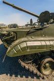 Partie antérieure du plan rapproché du véhicule de combat d'infanterie BMP-3 Photographie stock