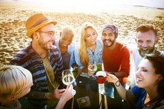 Partie célébrant le concept d'unité d'amitié de célébration Photo stock