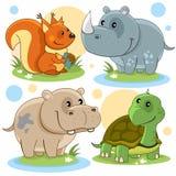 Partie d'animaux Images stock