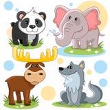 Partie d'animaux Photographie stock