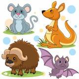 Partie 8 d'animaux Images stock