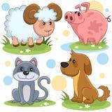 Partie 13 d'animaux Image stock