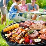 Partie de barbecue Image libre de droits