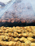 Partie de barbecue Photos stock