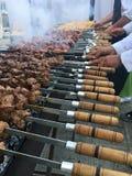Partie de barbecue Photographie stock libre de droits