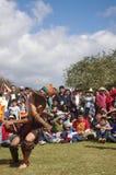 Partie de base-ball Mesoamerican Image libre de droits