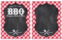 Partie de BBQ illustration libre de droits