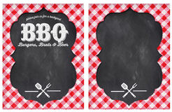 Partie de BBQ Photos libres de droits