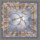 Partie de bicyclette Image stock