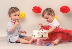 Partie de Birtday Images stock