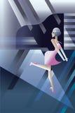 Partie de boîte de nuit d'ailerons de la danse 20s d'hurlement Image stock
