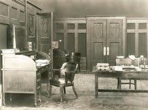 partie de bureau des années 1920 Images stock
