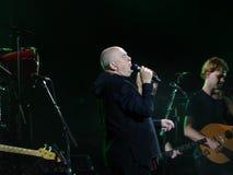 Partie 14 de ciseaux de papier de Sting And Peter Gabriel Rock Photographie stock