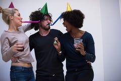 Partie de confettis Images stock