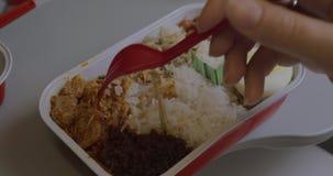 Partie de dîner dans l'avion clips vidéos