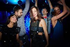 Partie de danse Images libres de droits