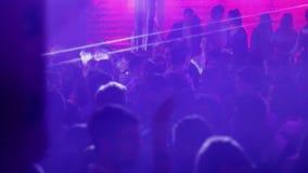 Partie de disco de nuit 03 banque de vidéos