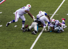 Partie de football de Buffalo Bills Photographie stock