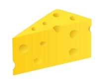 Partie de fromage illustration libre de droits