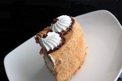 Partie de gâteau. Photos libres de droits