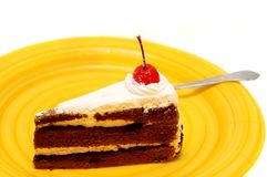 Partie de gâteau Photos stock