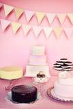 Partie de gâteau Photographie stock libre de droits