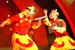 Partie de gala de festival de printemps de Nuo dance-2006 Jiangxi image libre de droits