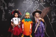 Partie de Halloween pour des enfants Photo stock